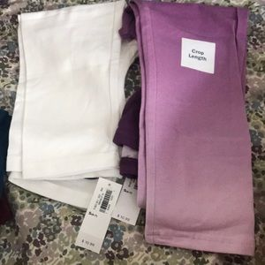 NWT lot of old navy capris